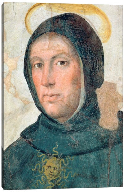 St. Thomas Aquinas Canvas Art Print