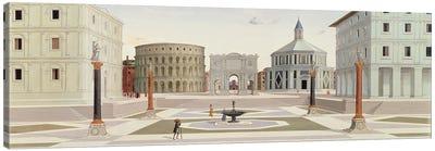 The Ideal City, c.1480 Canvas Art Print