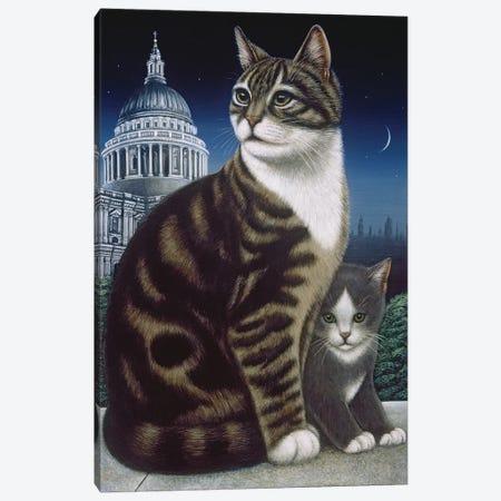 Faith, The St. Pauls Cat, 1995 Canvas Print #BMN11383} by Frances Broomfield Canvas Print