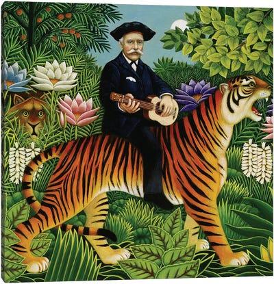Henri Rousseau's Dream, 1997 Canvas Art Print