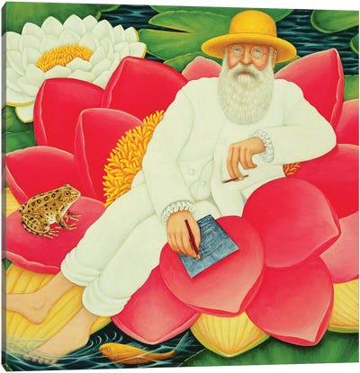 Monet's Waterlilies, 1996 Canvas Art Print