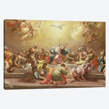 The Descent Of The Holy Spirit Canvas Print #BMN11389} by Francesco de Mura Art Print