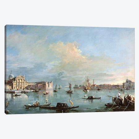 San Giorgio Maggiore Canvas Print #BMN11391} by Francesco Guardi Canvas Wall Art