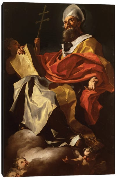 St. Athanasius Canvas Art Print