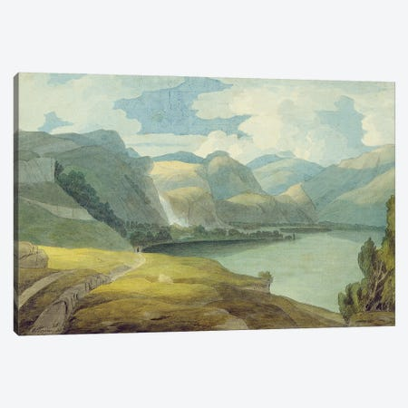 Derwentwater Looking South, 1786 Canvas Print #BMN11401} by Francis Towne Canvas Art