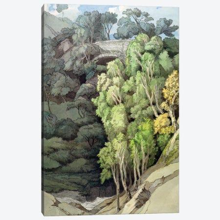 Devil's Bridge, 1810 Canvas Print #BMN11402} by Francis Towne Canvas Wall Art
