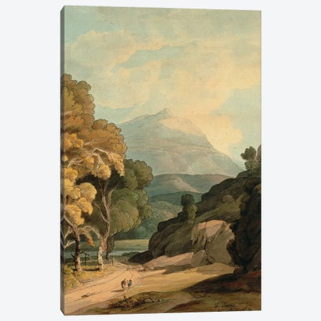 Near Maentwrog, North Wales Canvas Print #BMN11404} by Francis Towne Canvas Art Print