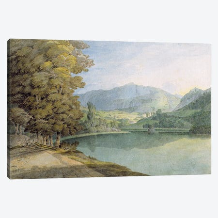 Rydal Water Canvas Print #BMN11405} by Francis Towne Canvas Art Print