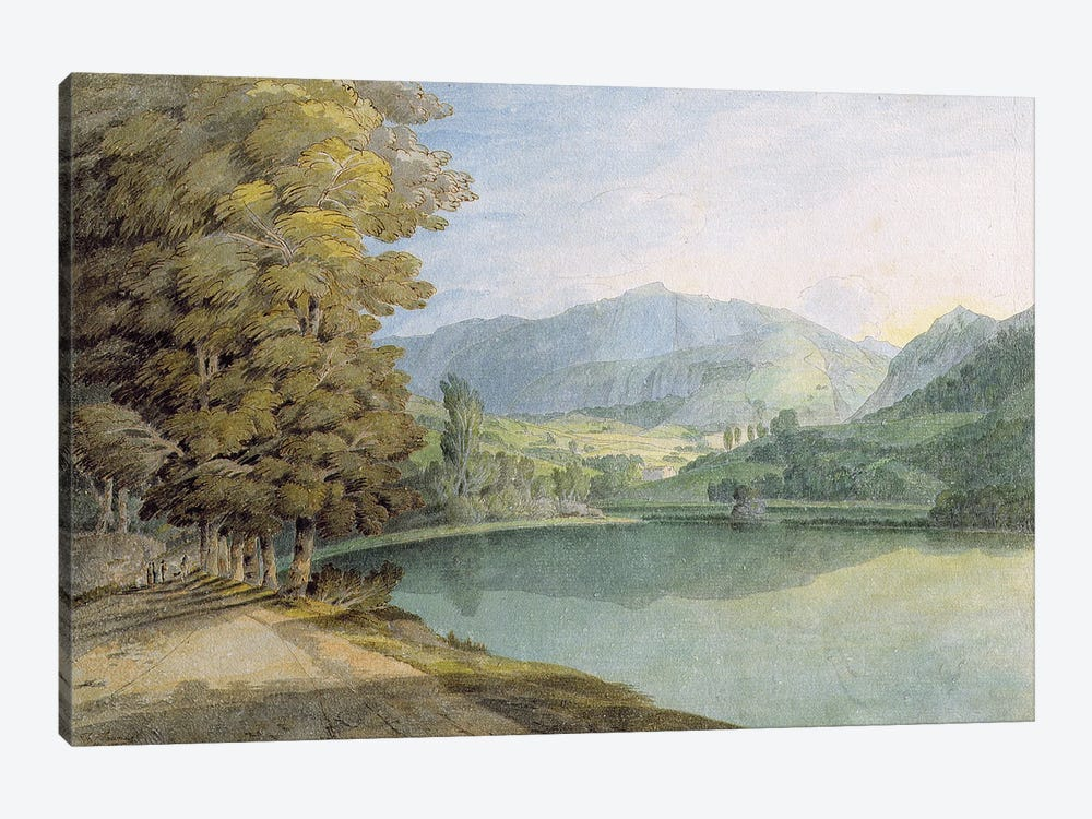 Rydal Water by Francis Towne 1-piece Canvas Art