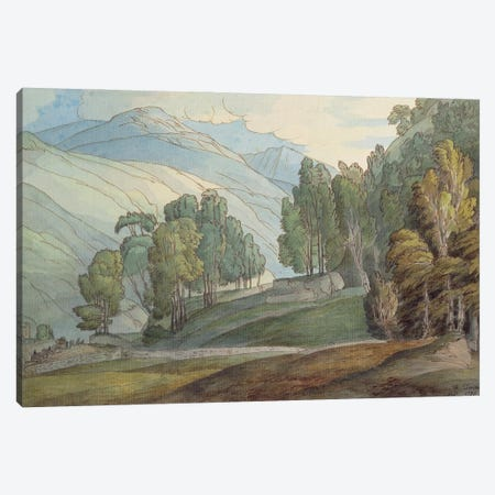 The Vale Of St. John In Cumberland, 1786 Canvas Print #BMN11411} by Francis Towne Canvas Print