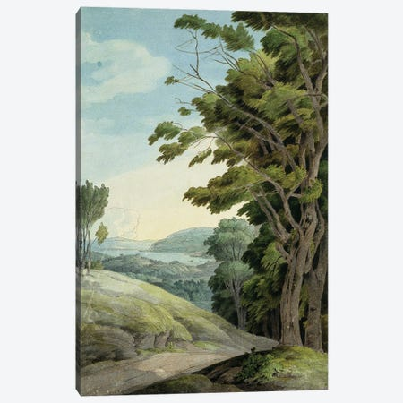 View From Rydal Park Canvas Print #BMN11412} by Francis Towne Canvas Art Print