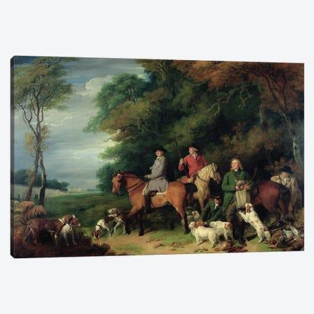Return From Shooting Canvas Print #BMN11413} by Francis Wheatley Canvas Art Print