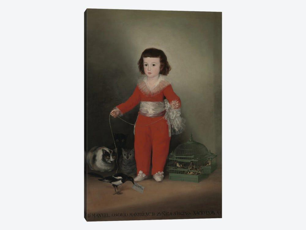 Don Manuel Osorio Manrique de Zuniga, 1790 by Francisco Goya 1-piece Canvas Art Print