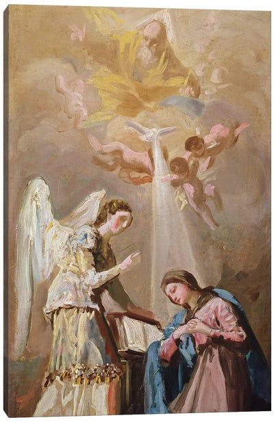 The Annunciation Canvas Art Print