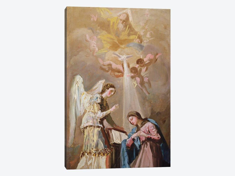 The Annunciation by Francisco Goya 1-piece Canvas Art