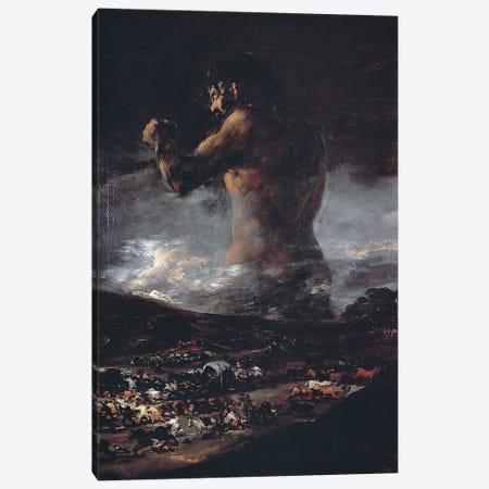 The Colossus, c.1808 Canvas Print #BMN11424} by Francisco Goya Canvas Print