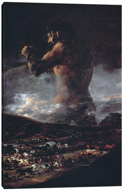 The Colossus, c.1808 Canvas Art Print