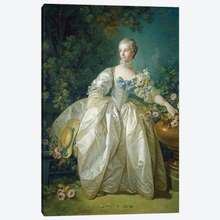 Madame Bergeret, c.1766 Canvas Print #BMN11432} by Francois Boucher Canvas Art Print