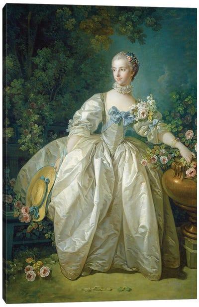 Madame Bergeret, c.1766 Canvas Art Print