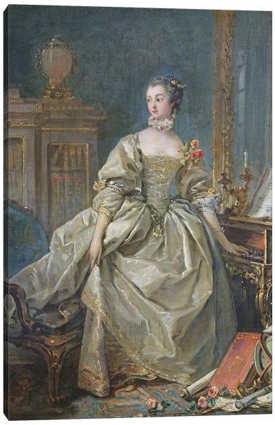 Madame de Pompadour Canvas Art Print