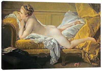 Reclining Nude (Miss O'Murphy) Canvas Art Print