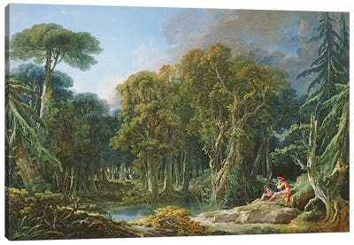 The Forest, 1740 Canvas Art Print