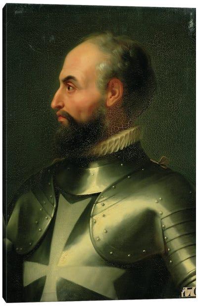 Jean de la Valette (Grand Master Of The Knights Of The Order Of Malta) Canvas Art Print
