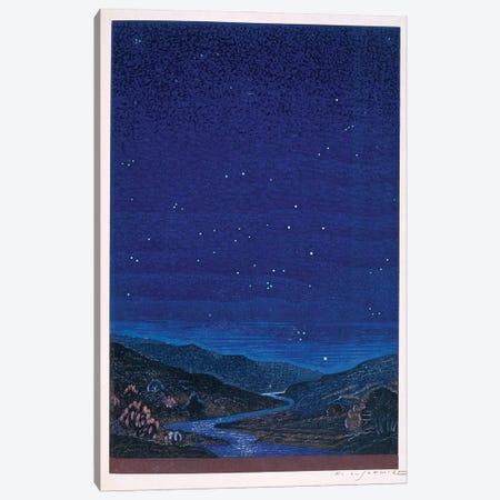Nocturnal Landscape (Illustration From Rudyard Kipling's Kim), 1930 Canvas Print #BMN11441} by Francois-Louis Schmied Canvas Art
