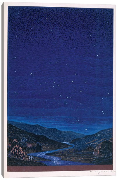 Nocturnal Landscape (Illustration From Rudyard Kipling's Kim), 1930 Canvas Art Print