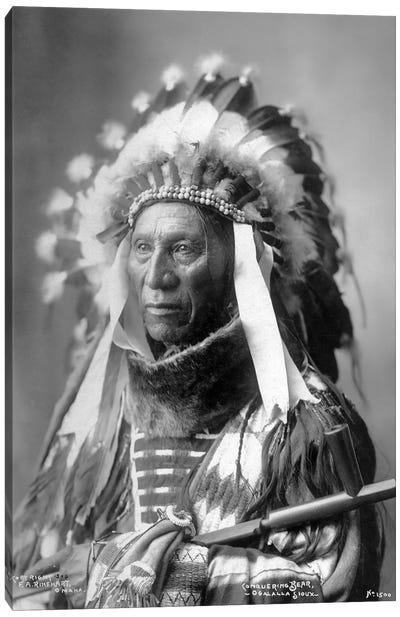 Conquering Bear (Chief Of The Brulé Lakota) Canvas Art Print