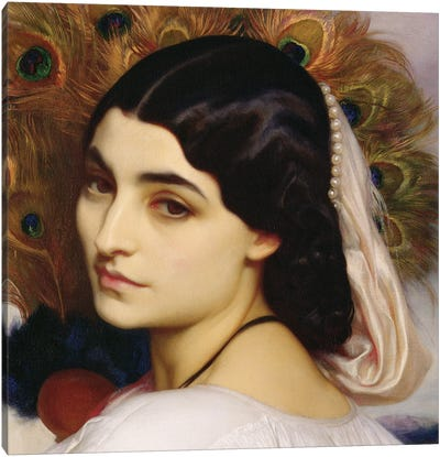 Pavonia, 1859 (In Zoom) Canvas Art Print