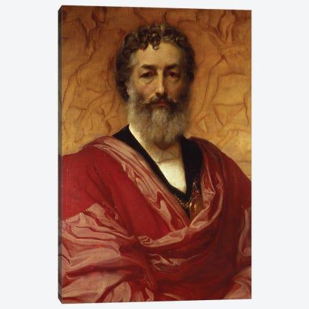 Self Portrait, 1880 Canvas Print #BMN11466} by Frederic Leighton Art Print