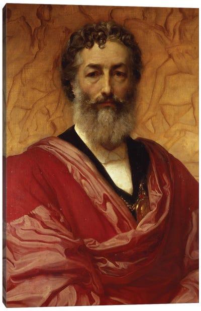 Self Portrait, 1880 Canvas Art Print