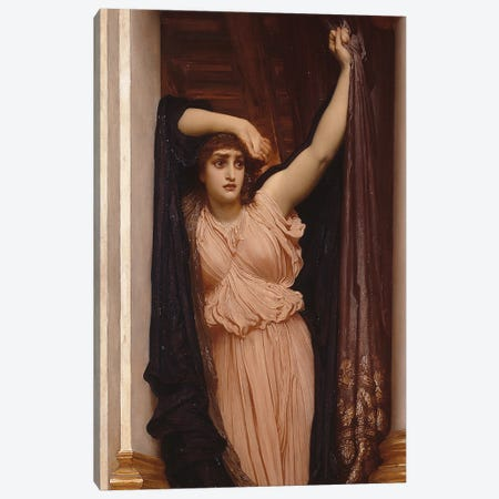 The Last Watch Of Hero, 1887 Canvas Print #BMN11469} by Frederic Leighton Canvas Art