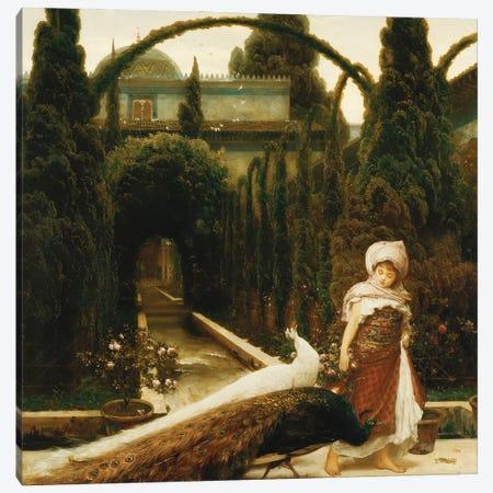 The Moorish Garden (A Dream Of Granada), 1874 Canvas Print #BMN11470} by Frederic Leighton Canvas Print