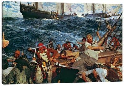 The Buccaneers Canvas Art Print