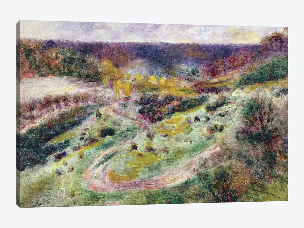 Landscape at Wargemont, 1879 by Pierre-Auguste Renoir 1-piece Canvas Artwork