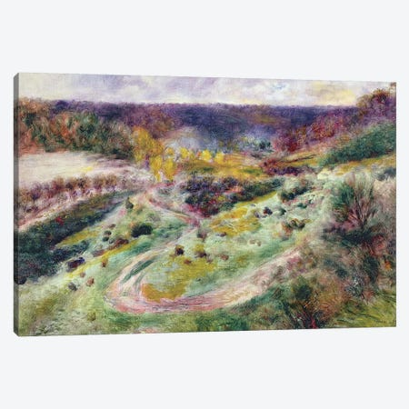 Landscape at Wargemont, 1879 Canvas Print #BMN1148} by Pierre-Auguste Renoir Canvas Print