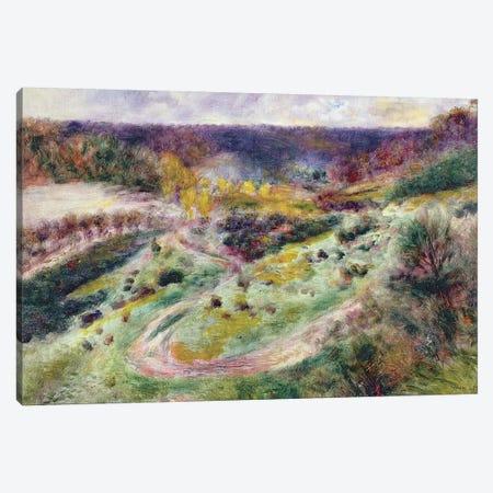 Landscape at Wargemont, 1879 Canvas Print #BMN1148} by Pierre-Auguste Renoir Canvas Print