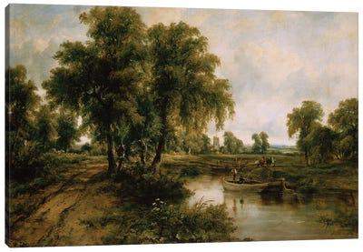 Dedham Vale, Suffolk Canvas Art Print