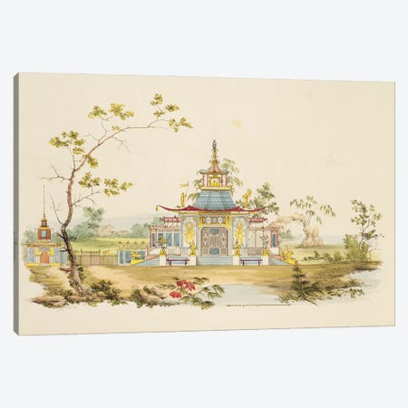 Design For A Chinese Temple I, c.1810 Canvas Print #BMN11502} by G. Landi Canvas Art Print