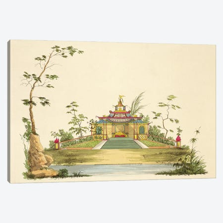 Design For A Chinese Temple II, c.1810 Canvas Print #BMN11503} by G. Landi Canvas Art Print
