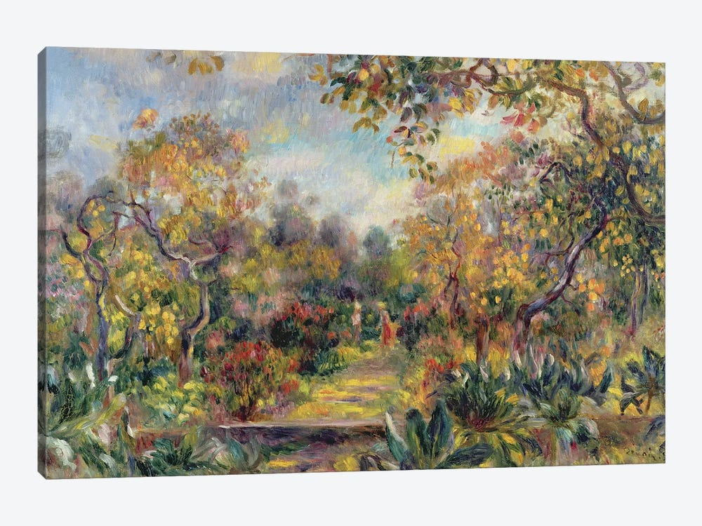 Landscape at Beaulieu, c.1893 by Pierre-Auguste Renoir 1-piece Art Print