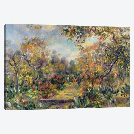 Landscape at Beaulieu, c.1893 Canvas Print #BMN1150} by Pierre-Auguste Renoir Canvas Wall Art