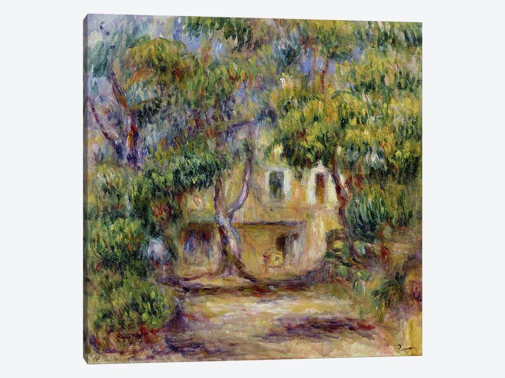 The Farm at Les Collettes, c.1915 by Pierre-Auguste Renoir 1-piece Canvas Artwork
