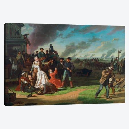 Order No. 11, 1865-68 Canvas Print #BMN11523} by George Caleb Bingham Art Print