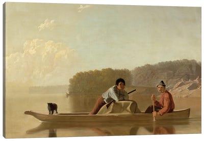 The Trapper's Return, 1851 Canvas Art Print