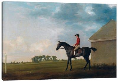 Gimcrack With John Pratt Up On Newmarket Heath, 1765 Canvas Art Print