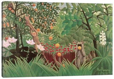Exotic Landscape, 1910 (Norton Simon Collection) Canvas Art Print