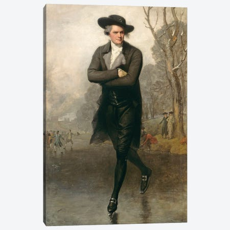 The Skater (Portrait of William Grant), 1782 Canvas Print #BMN11602} by Gilbert Stuart Canvas Artwork